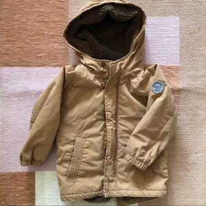 Zara Baby Boy | Sherpa Lined Coat 18-24 mos